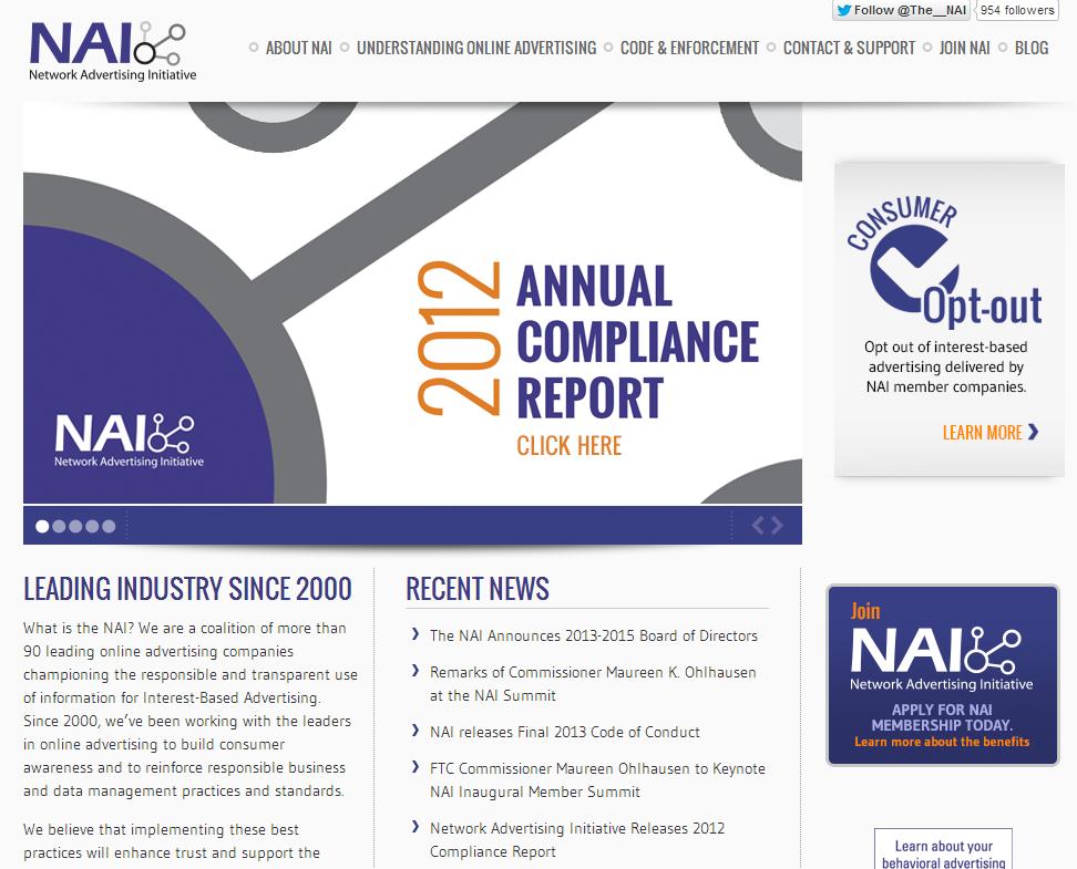 NAI 웹페이지