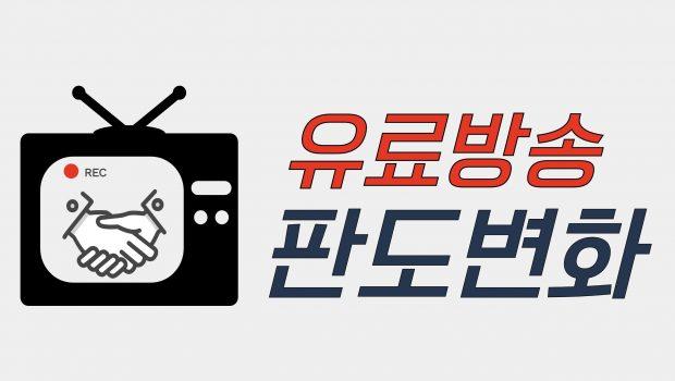 유료방송 시장 구도 변화