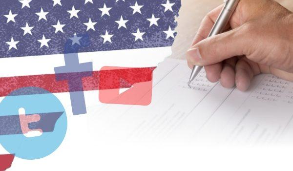소셜 미디어의 미국 선거 관련 자율규제 동향