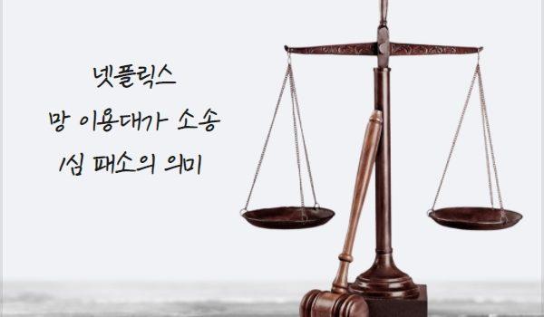 넷플릭스, '망 이용대가 소송' 1심 패소의 의미